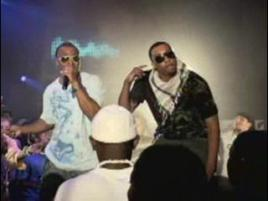 "Christian rappers Flame and Lecrae in their video for ""Joyful Noise"""